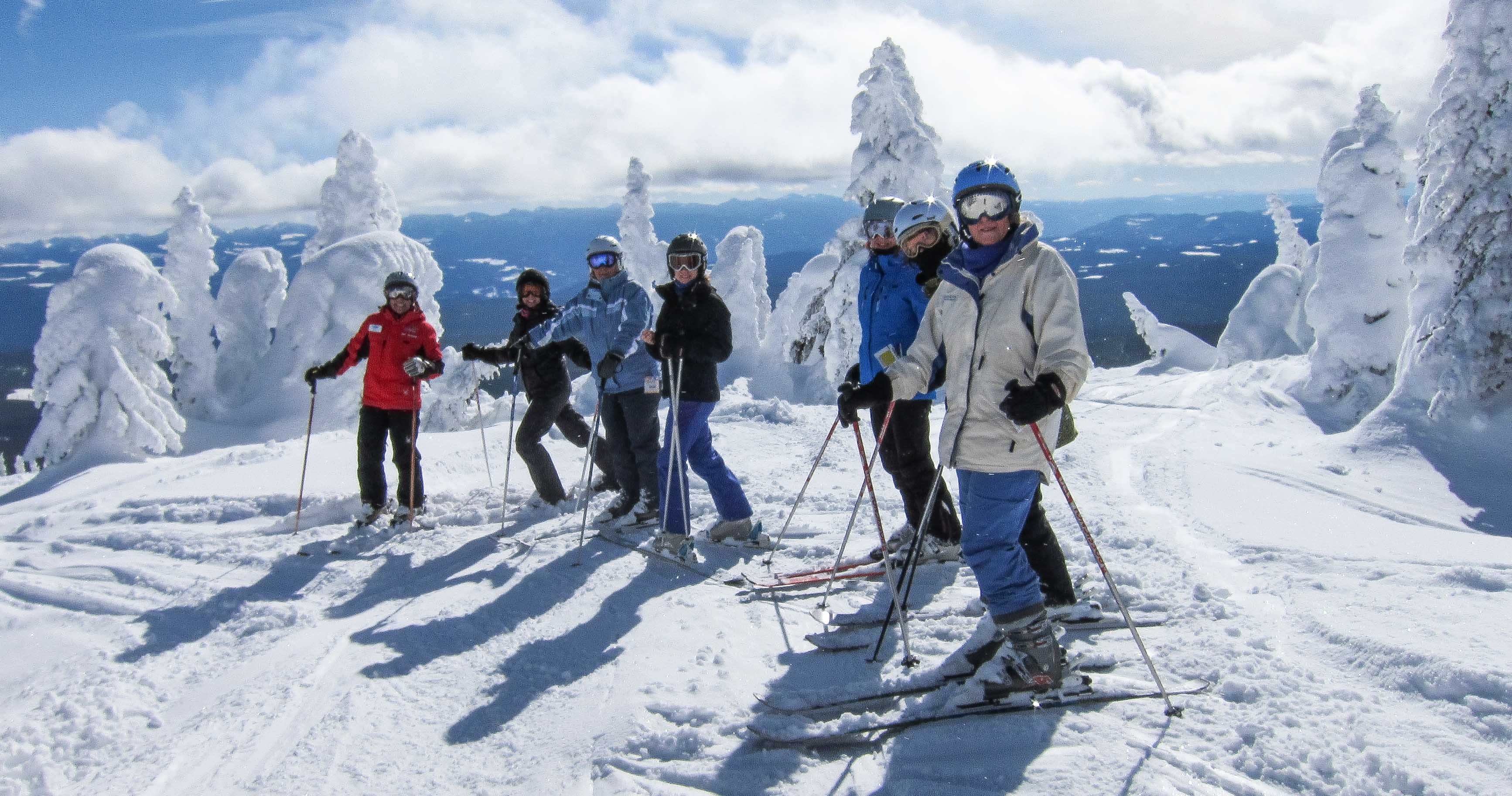 Image about family ski holiday promotion